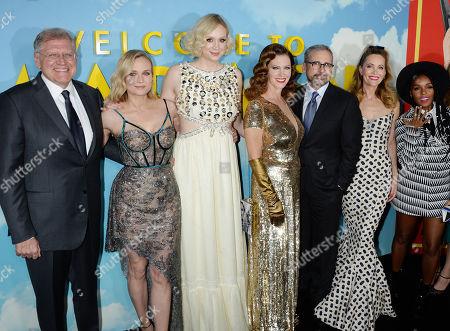 Robert Zemeckis, Diane Kruger, Gwendoline Christie, Steve Carell, Leslie Mann, Janelle Monae
