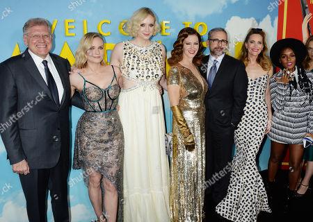 Robert Zemeckis, Diane Kruger, Gwendoline Christie, Leslie Mann, Steve Carell, Janelle Monae