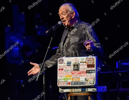 """Stock Photo of Charlie Musselwhite performs at Cyndi Lauper's 8th Annual """"Home for the Holidays"""" benefit concert at the Beacon Theatre, in New York"""
