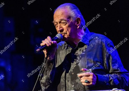 """Charlie Musselwhite performs at Cyndi Lauper's 8th Annual """"Home for the Holidays"""" benefit concert at the Beacon Theatre, in New York"""
