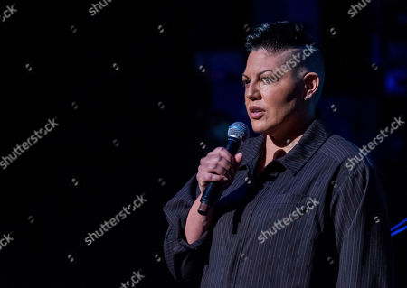 "Sara Ramirez performs at the 8th Annual ""Home for the Holidays"" benefit concert at the Beacon Theatre, in New York"