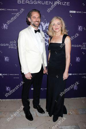 Jason Schuchman and Rachel Bay Jones