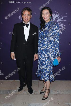 Nicolas Berggruen and Wendi Deng Murdoch