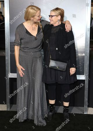 """Alison Eastwood, Dianne Wiest. Alison Eastwood, left, and Dianne Wiest arrive at the world premiere of """"The Mule"""", at the Westwood Regency Village Theatre in Los Angeles"""