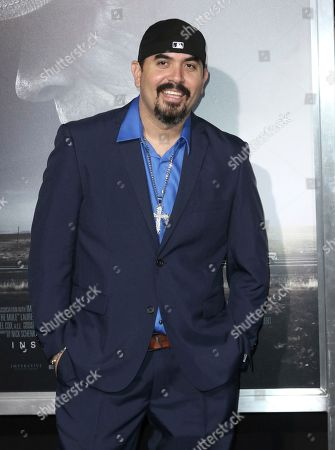 """Stock Picture of Noel Gugliemi arrives at the world premiere of """"The Mule"""", at the Westwood Regency Village Theatre in Los Angeles"""