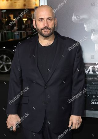 "Aaron L. Gilbert arrives at the world premiere of ""The Mule"", at the Westwood Regency Village Theatre in Los Angeles"
