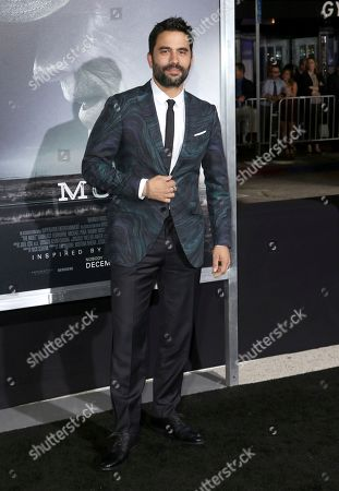 "Ignacio Serricchio arrives at the world premiere of ""The Mule"", at the Westwood Regency Village Theatre in Los Angeles"