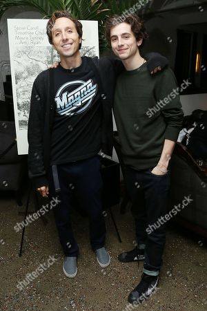 Stock Picture of Nic Sheff, Timothee Chalamet