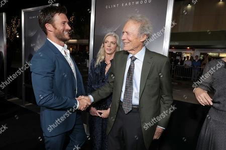 Scott Eastwood, Christina Sandera, Clint Eastwood, Director/Producer/Actor,