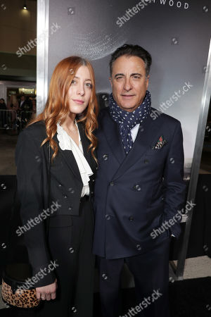 Stock Picture of Daniella Garcia-Lorido, Andy Garcia