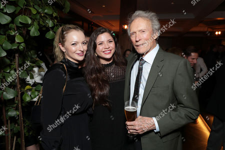 Francesca Fisher-Eastwood, Morgan Eastwood, Clint Eastwood, Director/Producer/Actor,
