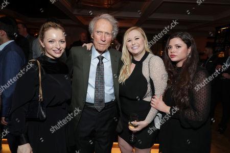 Francesca Fisher-Eastwood, Clint Eastwood, Director/Producer/Actor, Kathryn Eastwood, Morgan Eastwood