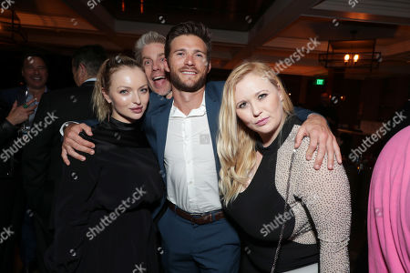 Stock Picture of Francesca Fisher-Eastwood, Kyle Eastwood, Scott Eastwood, Kathryn Eastwood