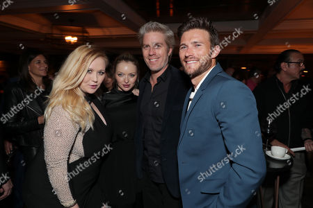 Stock Picture of Kathryn Eastwood, Francesca Fisher-Eastwood, Kyle Eastwood, Scott Eastwood