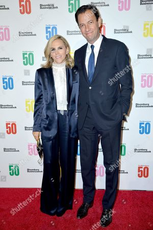 Stock Image of Tory Burch, Pierre-Yves Roussel