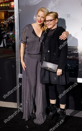 Alison Eastwood (L)  with Dianne Wiest