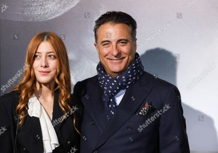 Andy Garcia (R)  with daughter  Daniella Garcia-Lorido (L)