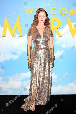 Editorial picture of Movie premiere of Welcome to Marwen, Los Angeles, USA - 10 Dec 2018