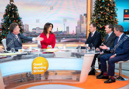 Alastair Campbell, Dominic Grieve and Nigel Farage with Piers Morgan and Susanna Reid