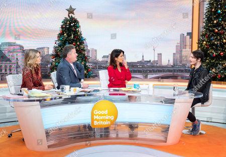 Charlotte Hawkins, Piers Morgan, Susanna Reid and Blake Fielder-Civil