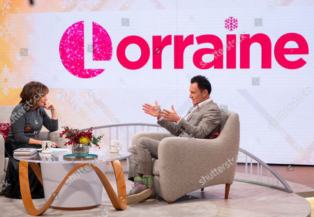 Lorraine Kelly and Julian McMahon