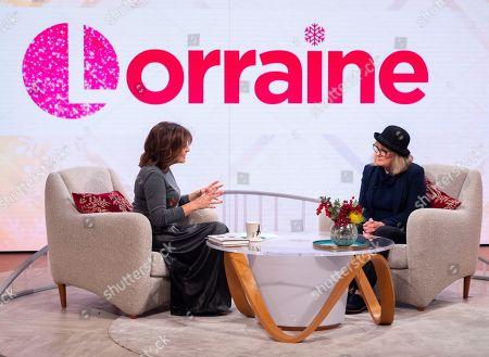Editorial photo of 'Lorraine' TV show, London, UK - 11 Dec 2018