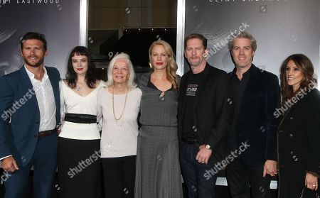 Scott Eastwood, Maggie Johnson, Graylen Spencer Eastwood, Alison Eastwood, Stacy Poitras
