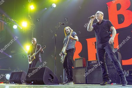 Bad Religion - Mike Dimkich, Jay Bentley and Greg Graffin