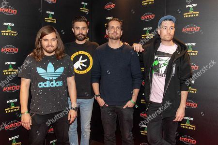 Bastille - Chris Wood, Kyle Simmons, Will Farquarson and Dan Smith