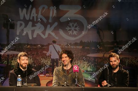 Nathan Connolly, Gary Lightbody, Johnny McDaid
