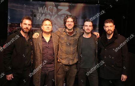 Johnny McDaid, Jonny Quinn, Gary Lightbody, Paul Wilson, Nathan Connolly.