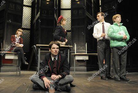 'Punk Rock' - Jessica Raine (Lily), Tom Sturridge (William), Ghazaleh Golpira (Lucy), Henry Lloyd Hughes (Bennett) and Harry McEntire (Chadwick)