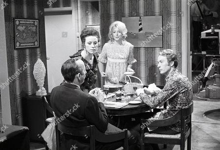 'The Ten Commandments'  TV - 1971 - Husband and Friend - James Grout as Angus, Judy Parfitt as Vivien, Judy Cornwell as Sarah and Michael Culver as Richard.