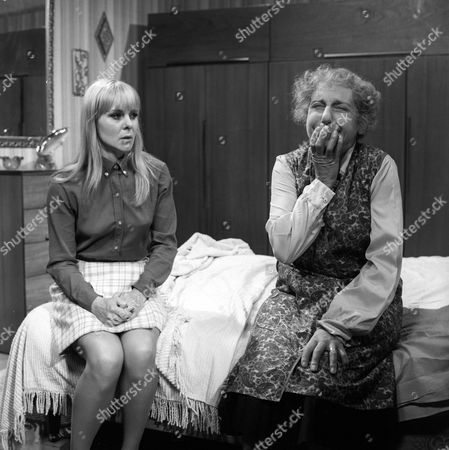 'The Ten Commandments'  TV - 1971 - Be Lucky - June Ritchie as Jan Lee and Patience Collier as Mother.