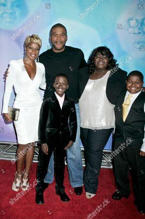 Mary J. Blige, Kwesi Boakye, Tyler Perry, Gabourey Sidibe and Freddy Siglar