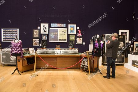 Unique Helios Centric Console used By  Rock Music Legends, Led Zeppelin, Bob Marley, David Bowie, Eric Clapton, George Harrison, Rolling Stones, Paul Weller, Jimi Hendrix and other celebrity users