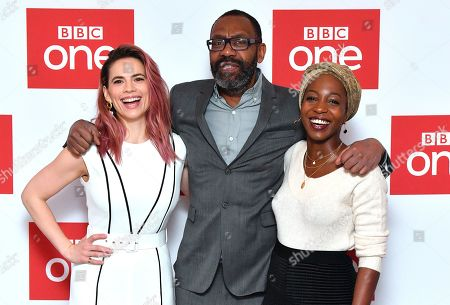 Editorial image of 'The Long Song' BBC TV Show premiere, Soho Hotel, London, UK - 11 Dec 2018