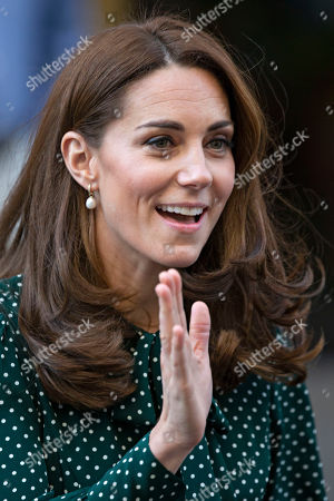 Prince William and Catherine Duchess of Cambridge visit to The Passage, London