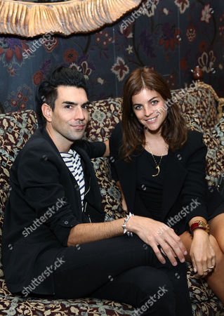 Stock Photo of Julia Restoin-Roitfeld and Keegan Singh