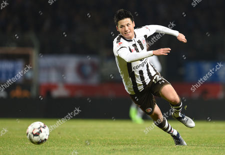 Football 2. Bundesliga 16.  match day VfL Osnabrueck - 1. FC St. Pauli of ovia Ruhrstadium in  Bochum