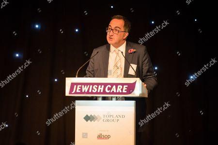 Editorial photo of Jewish Care Topland Lunch, Grosvenor House Hotel, London, UK - 07 Nov 2018