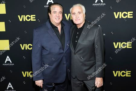 Joe Cortese (right) and guest