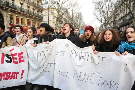 Student protests, France
