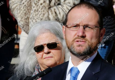 Susan Bro, Joseph Platania. Susan Bro, left, mother of Heather Heyer, listens as Commonwealth's Attorney Joseph Platania, right, speaks to the media after a jury recommended life plus 419 years for James Alex Fields Jr. for the death of Heather Heyer as well as several other charges related to the Unite the Right rally in 2017 in Charlottesville, Va