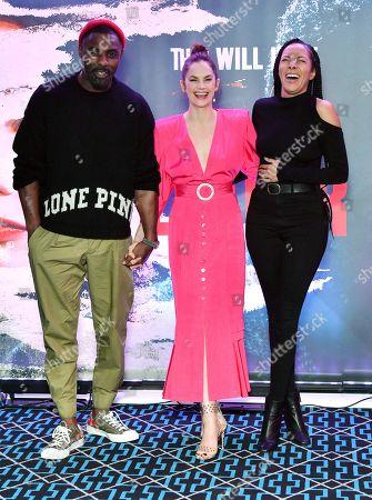 Ruth Wilson, Idris Elba and Yasmin Evans