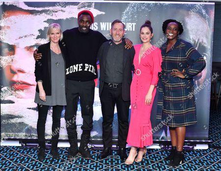 Hermione Norris, Idris Elba, Michael Smiley, Ruth Wilson and Wunmi Mosaku