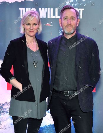 Hermione Norris and Michael Smiley
