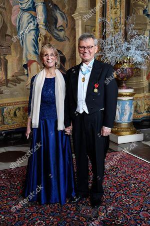 Professor Evi Heldin och professor Carl-Henrik Heldin