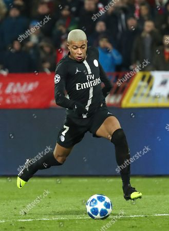292aa71e696 Paris Saint-Germain s Kylian Mbappe in action during the UEFA Champions  League Group C soccer