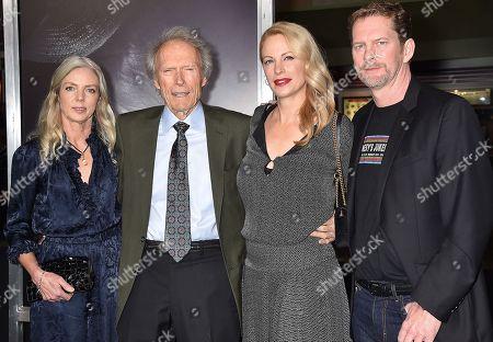 Christina Sandera, Clint Eastwood, Alison Eastwood, Stacy Poitras